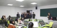 开学第一天校领导深入教学楼了解教学情况 - 江西师范大学