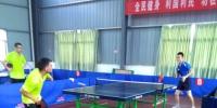 抚州市举办第五届运动会乒乓球比赛 - 体育局