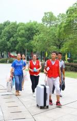 学院喜迎2017级新生 - 江西经济管理职业学院