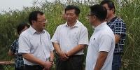 水利部总规划师汪安南一行来赣调研鄱阳湖综合治理和保护情况 - 水利厅