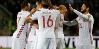 世预赛-皇马旧将世界波处子球 西班牙客胜收官 - 体育局