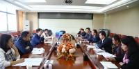 全省高校意识形态与网络安全、学校安全稳定工作督查组来校指导工作 - 南昌工程学院