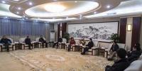江西省科技厅党组书记郭学勤一行到访我校 - 江西财经大学