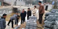 杨丕龙调研指导潦河灌区水利工程建设 - 水利厅
