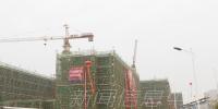 科技学院共青校区主体建筑施工基本完成 - 江西师范大学