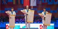 周俐君获世界跆拳道大满贯赛银牌 - 体育局