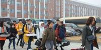 2018年江西省艺术校考首日 我校考点秩序井然 - 江西科技师范大学