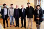 校领导春节前夕看望慰问在岗职工和留校学生 向全校师生致以新春祝福 - 江西农业大学