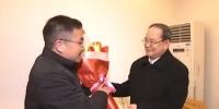 省委书记鹿心社亲切看望我校翁贞林教授 - 江西农业大学
