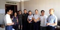 校领导看望巡视组驻地学校联络组工作人员 - 江西农业大学