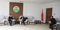 省委组织部副部长徐忠一行来校看望慰问高端人才 - 江西农业大学