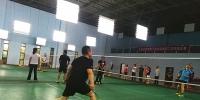 学院举办首届教职工羽毛球比赛 - 江西经济管理职业学院