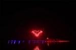 """深圳湾夜空上演超燃大片!16万发礼花赞美""""祖国万岁"""" - 上饶之窗"""