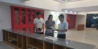 """周敏丹指导""""一站式""""学生社区服务大厅建设 - 南昌工程学院"""