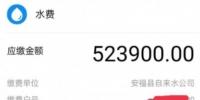 """安福县一市民收到52万元""""天价""""水费单 县水务公司:水表装反所致 已更正数据 - 中国江西网"""